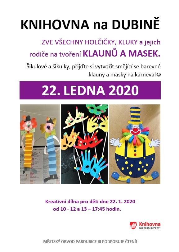 22.1.2020 KLAUNI A MASKY