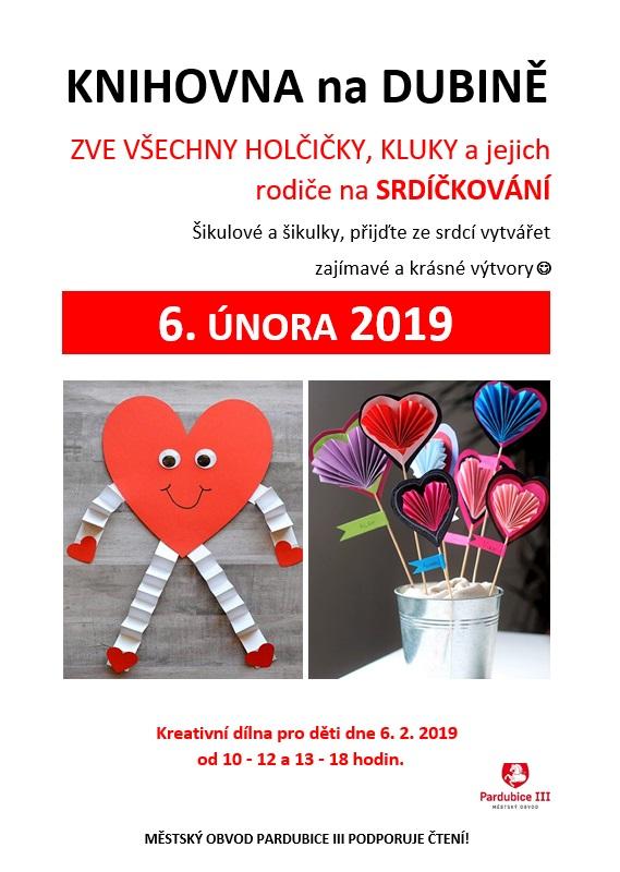 6.2.2019 Srdíčkování