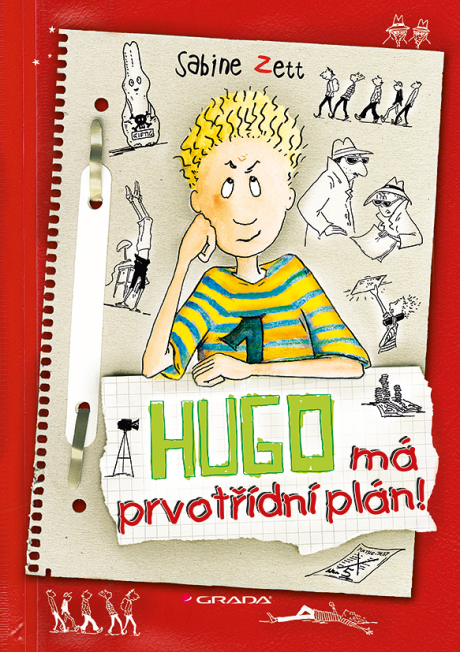 Obálka Hugo má prvotídní plán.indd