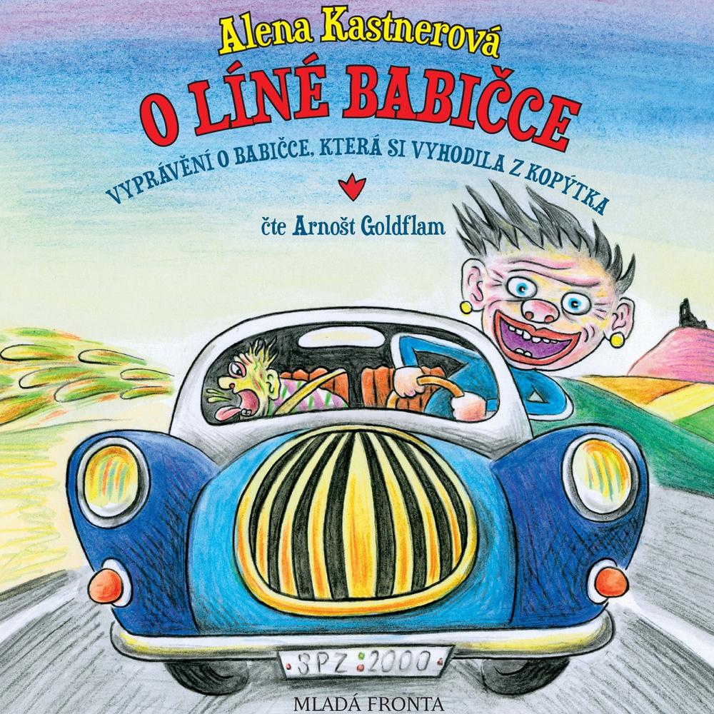 Audiokniha-O-line-babicce-Alena-Kastnerova