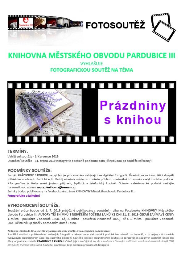 Fotosoutěž Prázdniny s knihou