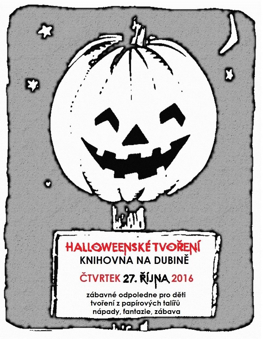 Halloween v Knihovna na Dubině