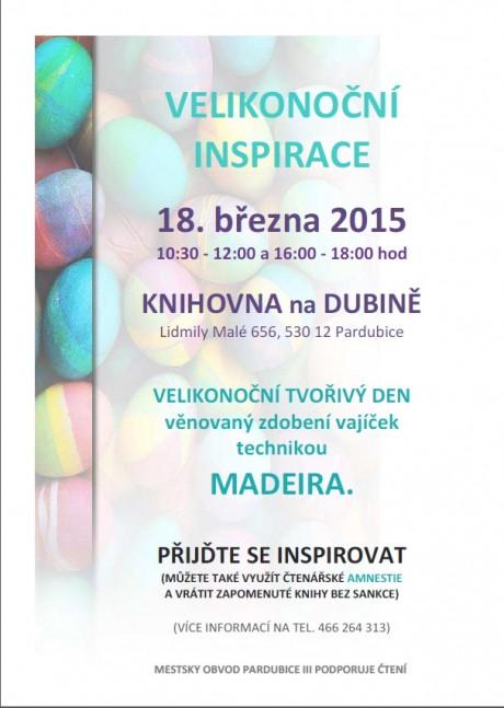 Velikonoční inspirace 2015