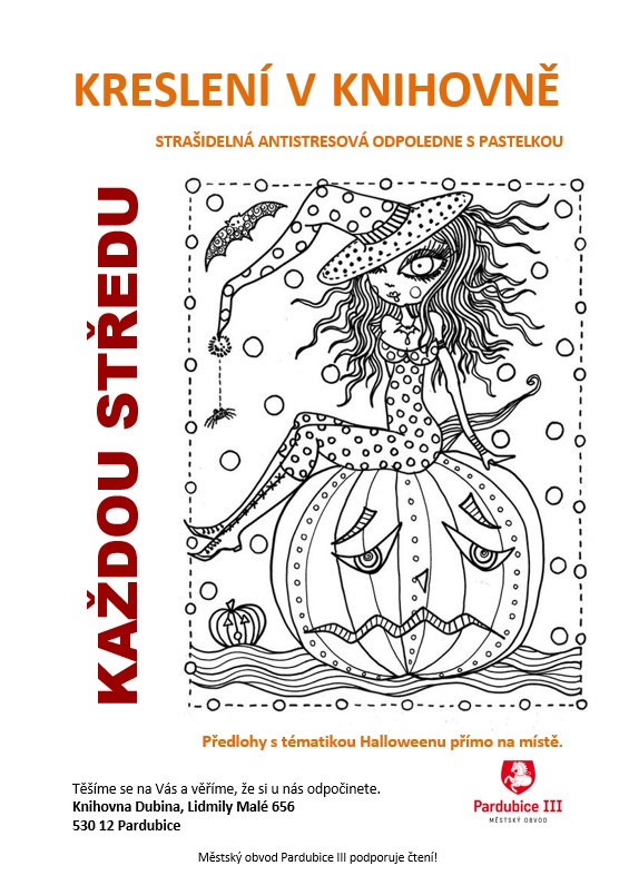 halloween kreslení