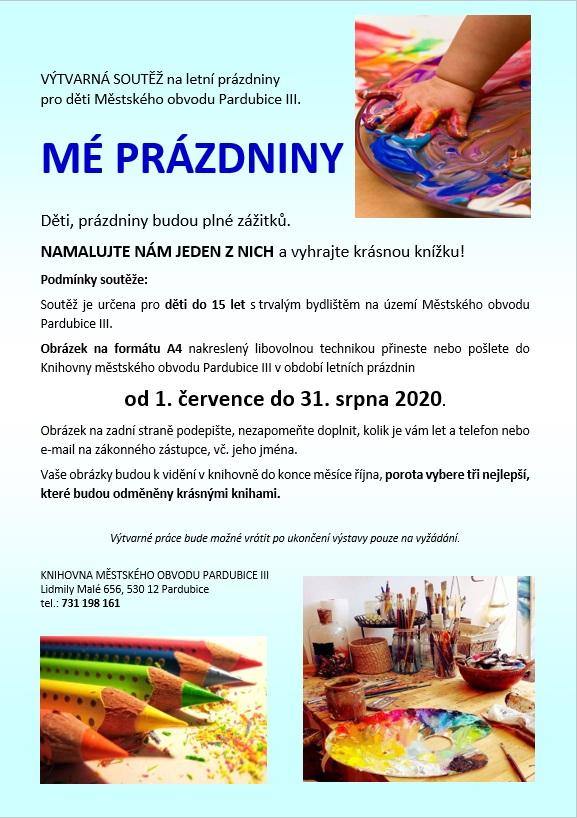 malování léto 2020