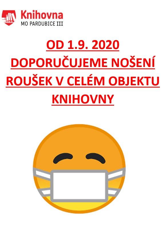 roušky úřad od 1.9.2020